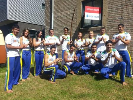 Braziliaanse Capoeira Show MCN bewoont tijdelijk Van Maerlant College