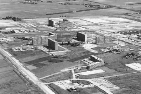 Tijdelijk wonen in Rotterdam - Ommoord in aanbouw