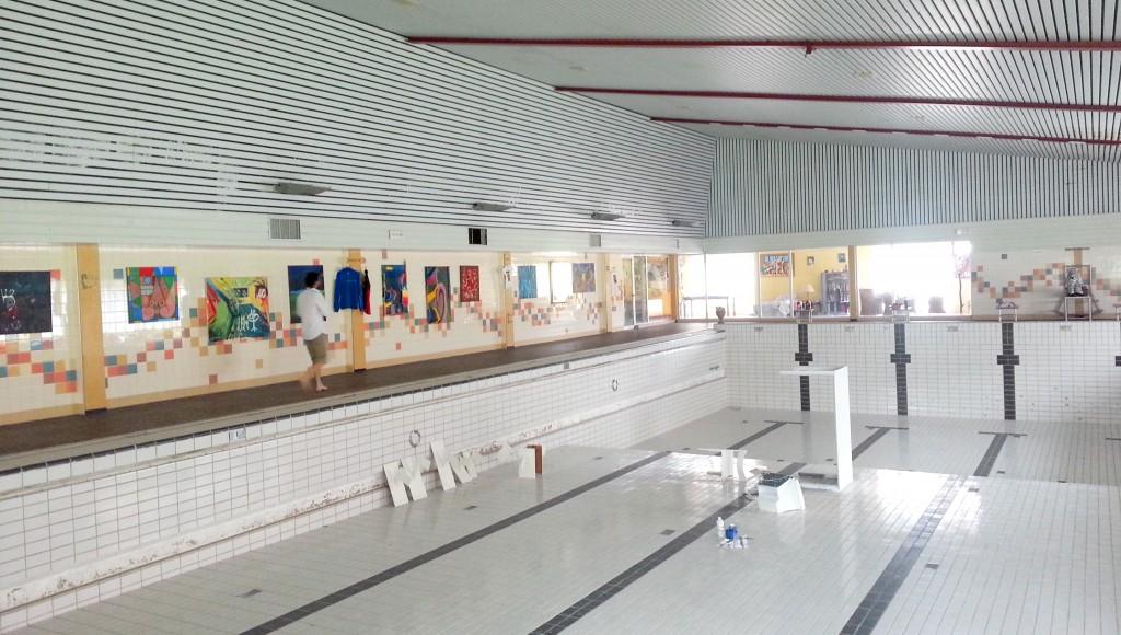 Tijdelijke bewoning in zwembad mogelijk gemaakt door Leegstandbeheerder interveste