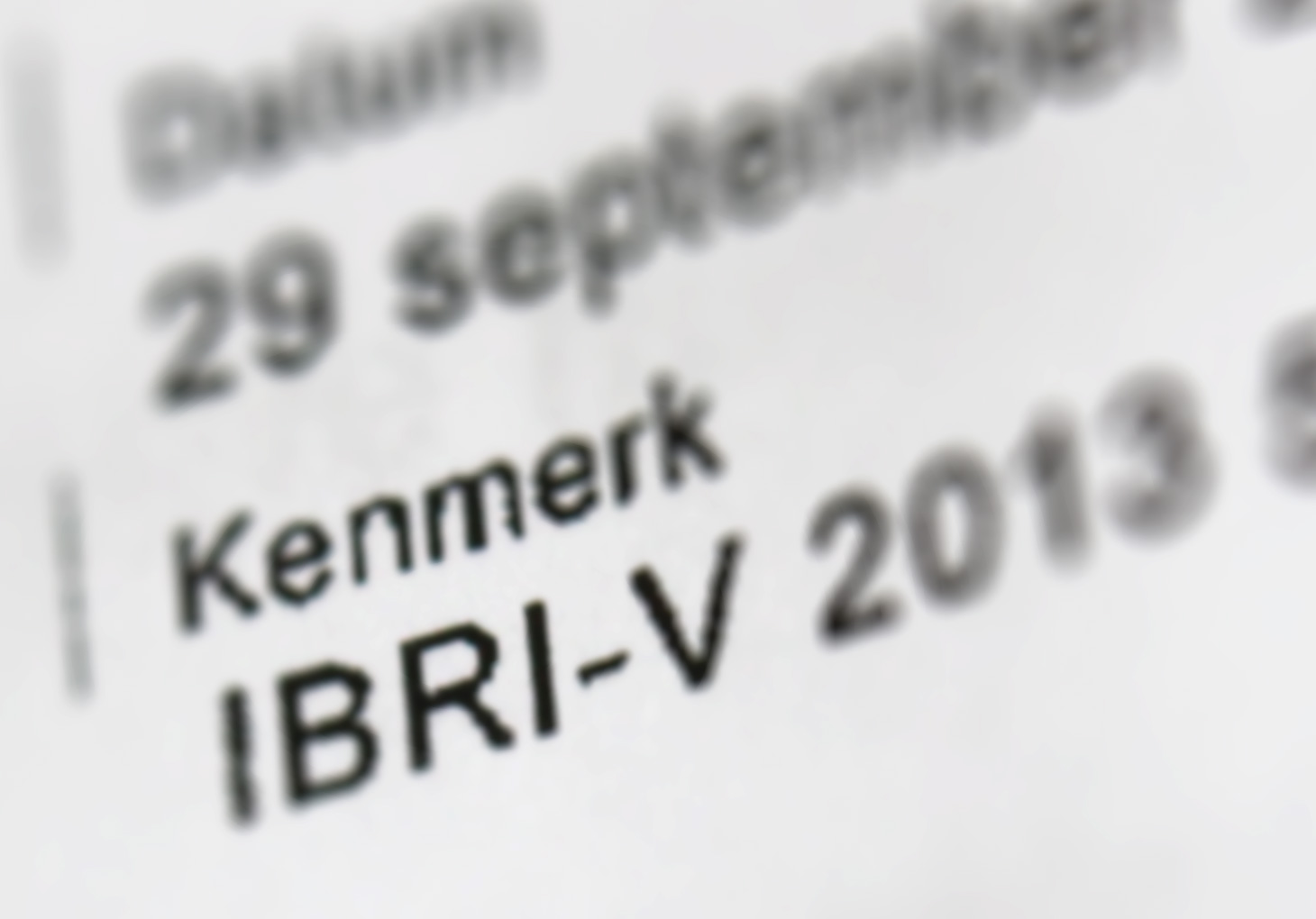 Inkomensverklaring – IBRI-O, IBRI-V en IBRI-D