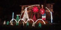 Bijzondere huizen - Versierde kersthuizen
