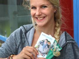 Lara- Craenmehr - Winnaar van de VVV bon ter waarde van 50 euro