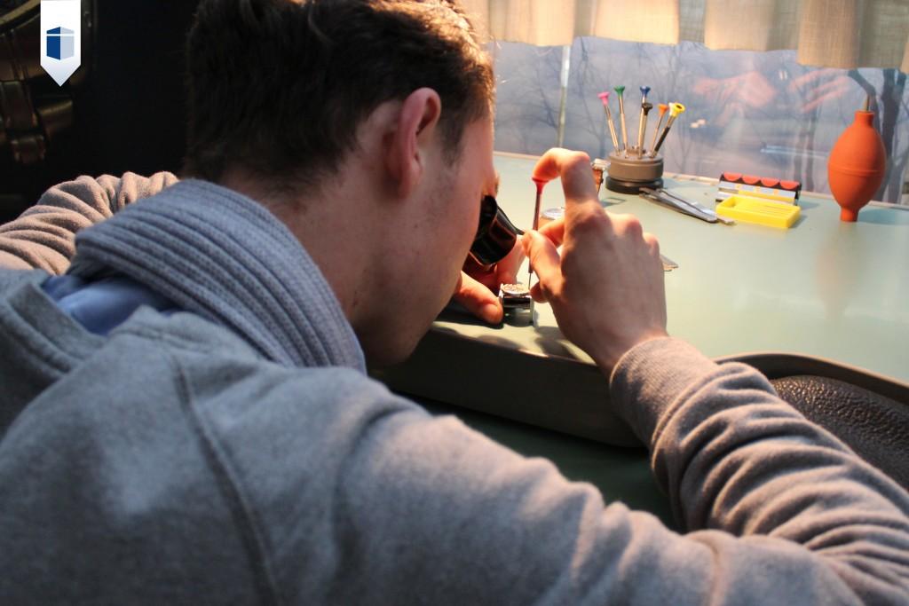 Horlogemaker Bram 's-Hertogenbosch School - Horloge maken