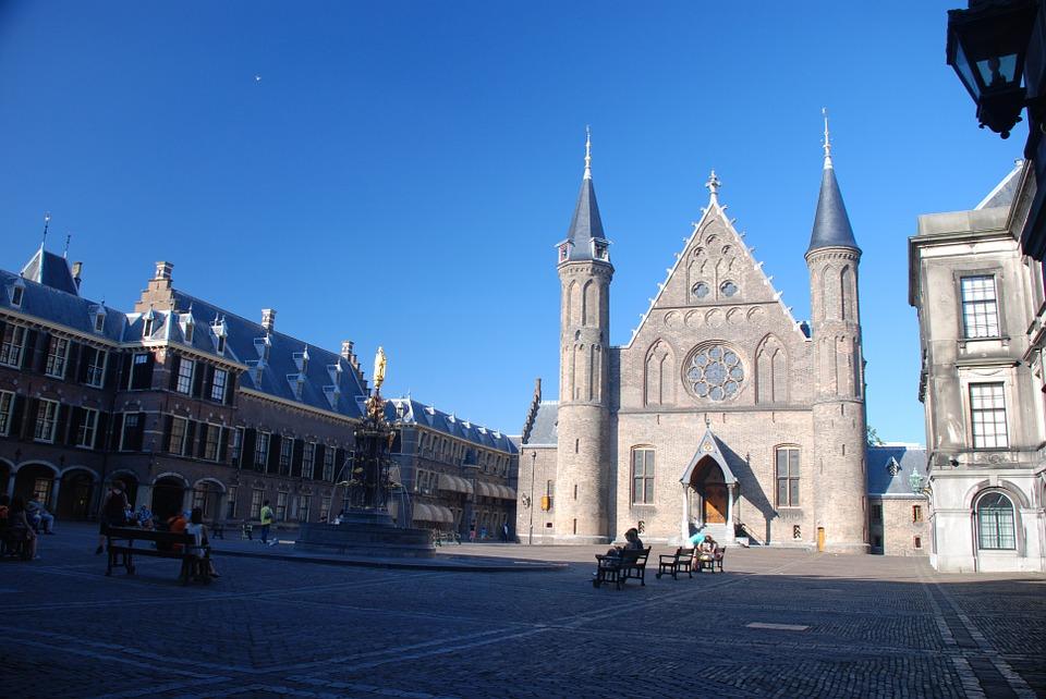 Het Binnenhof in Den Haag zal in 2020 tijdelijk verhuizen