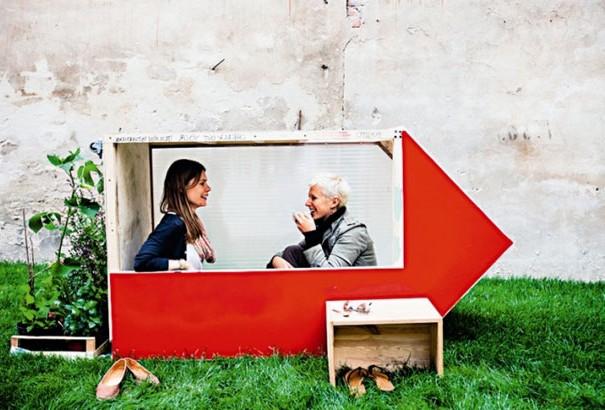 Een huis van één vierkante meter!?
