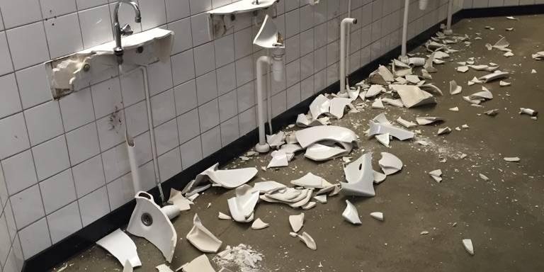Leegstaande dierentuin Emmen vernield