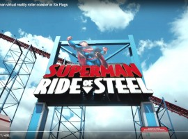 Superman Six Flags Roller coaster
