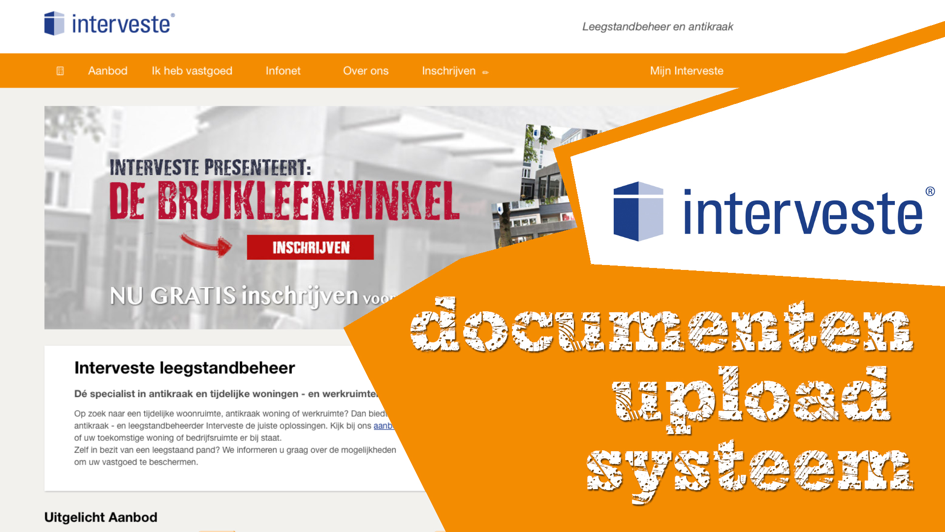 NIEUW! Document upload systeem