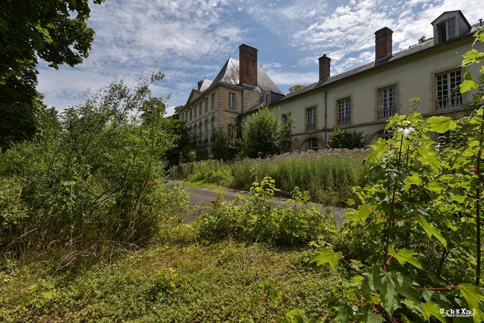 De ultieme Urbex foto: Chateau des Anges