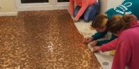Geen last van mieren met deze blinkende vloer