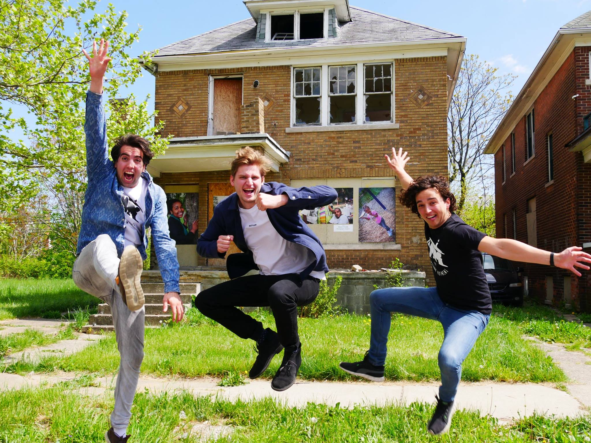 Studenten kopen huis in Detroit van 1 maand stufi