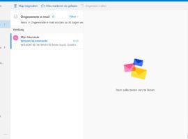 Outlook - Browse naar ongewenste mail