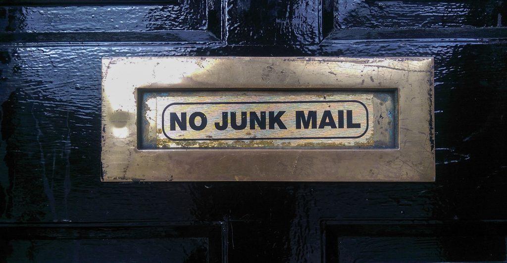 Spamfolders instellen - veilige maillijsten