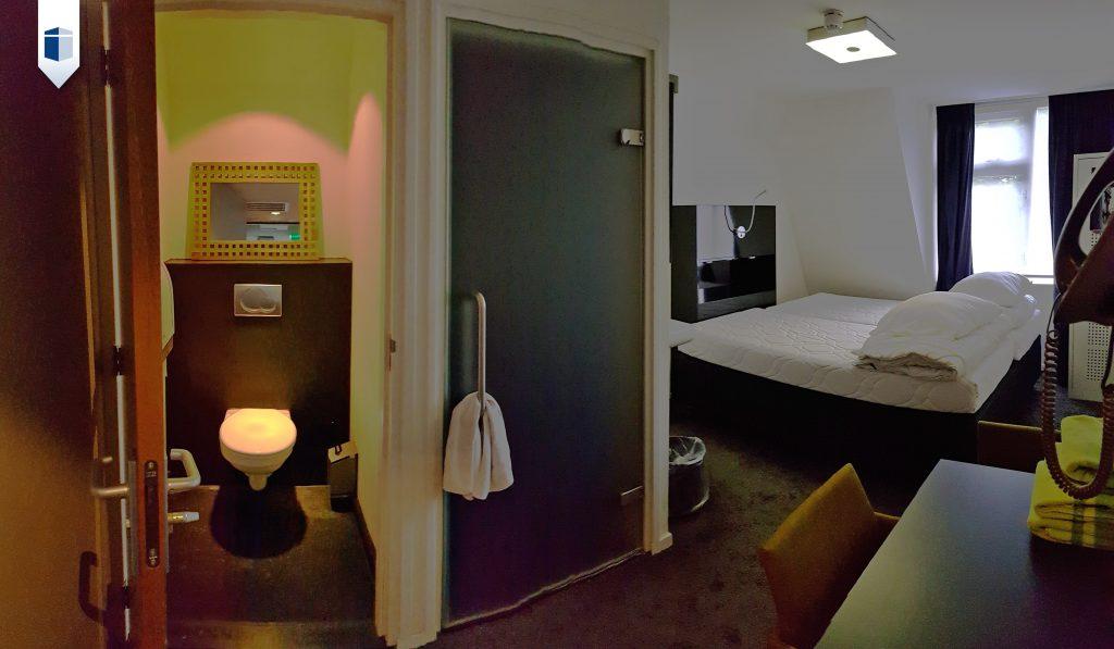 Antikraak kamer in voormalig Hotel Dordrecht