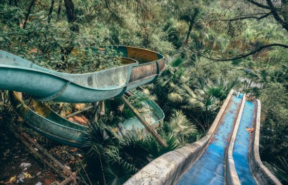 Verlaten waterpark Vietnam