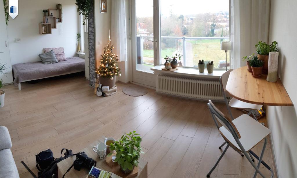 Wonen in Arnhem in een tijdelijke studio