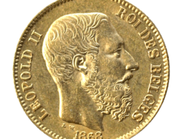 Leopold 2 Gouden munt