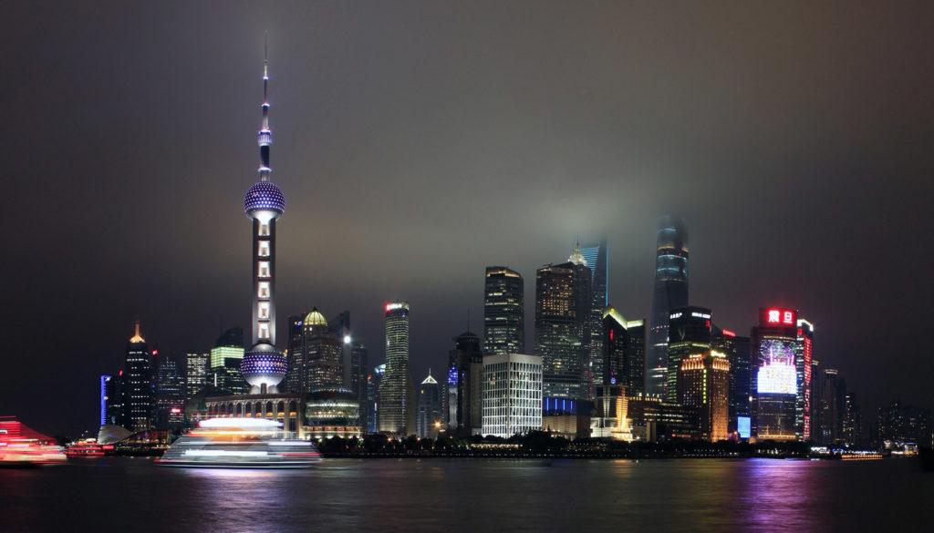 Shanghai aanzicht