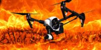 Drones voor brandbestrijding hoge gebouwen