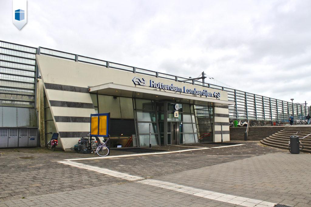 Station Lombardijen ligt om de hoek