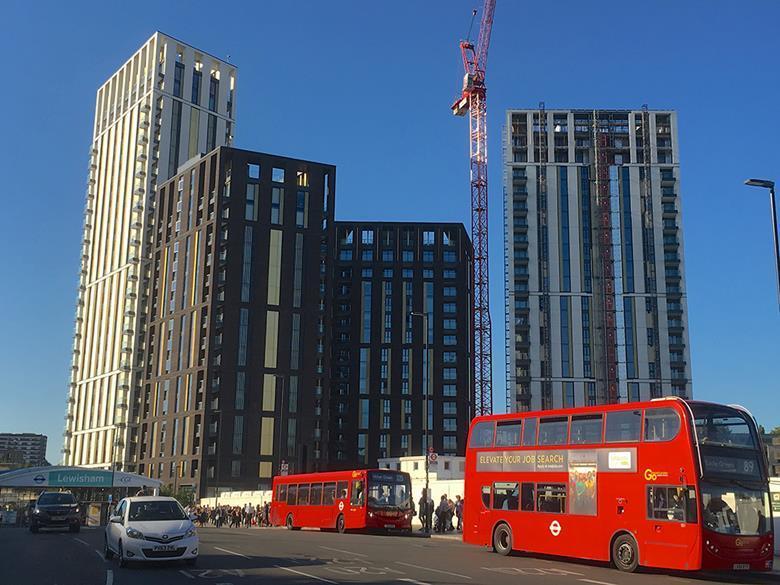 Lewisham Gateway Londen door PRP Architects