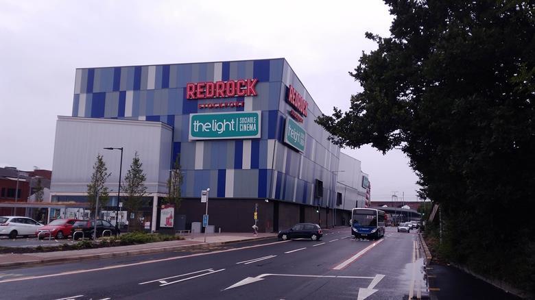 Redrock Stockport door BDP