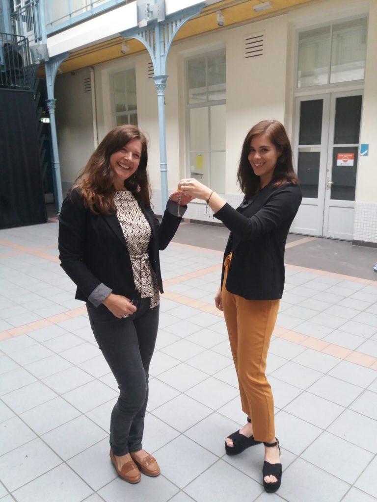 Eerste ondernemers betrekken werkruimte in Delft
