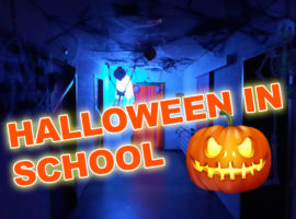 Halloween in Didam School