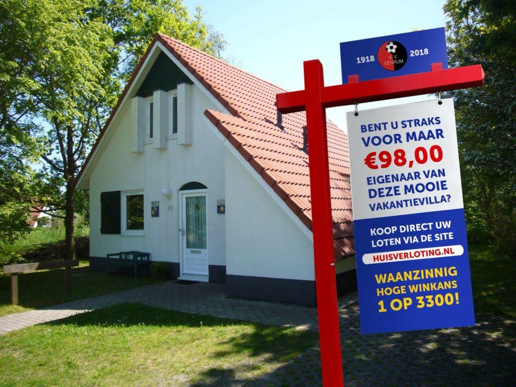 Vakantiehuis Loterij Eenrum