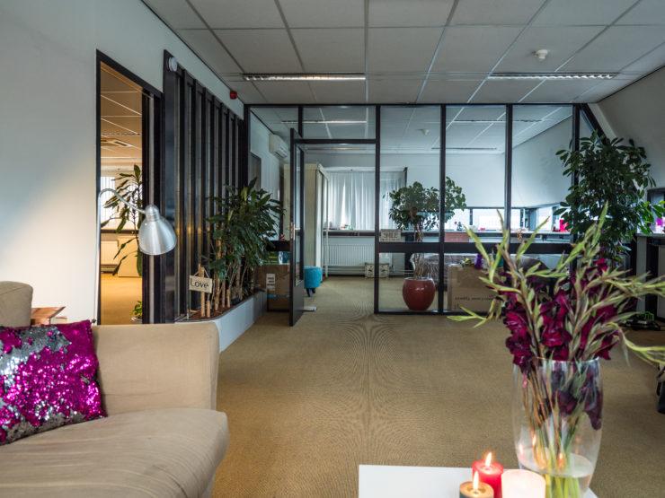 Prachtige indeling in het voormalige kantoorpand van De Goede Woning