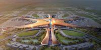Beijing stampt enorm vliegveld uit de grond