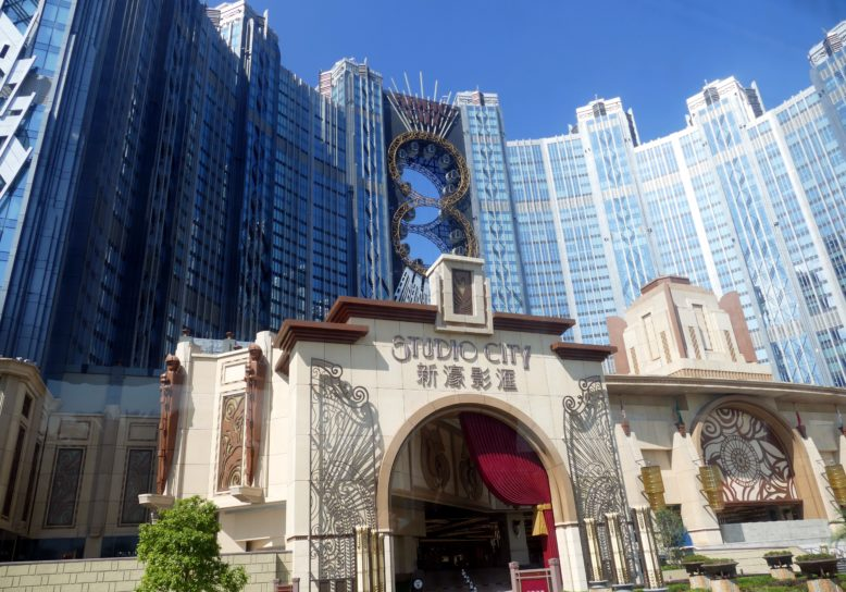 Studio City Macau – met ingebouwd acht-vormig reuzenrad