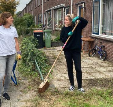 Samen werken aan een schone buurt