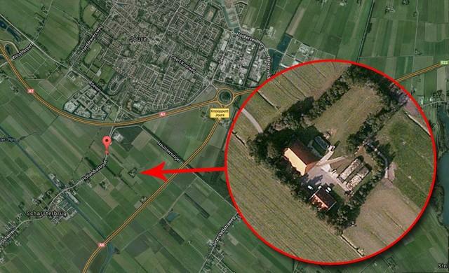 Antikraak boerderij in Scharsterbrug beheerd door Interveste