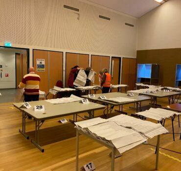 Vrijwilliger op het stembureau, hoe is dat?