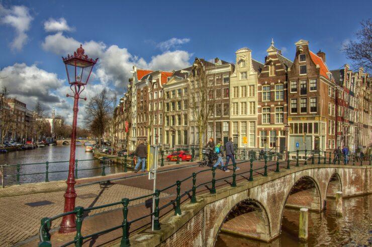 Woningen aan de Keizersgracht in Amsterdam
