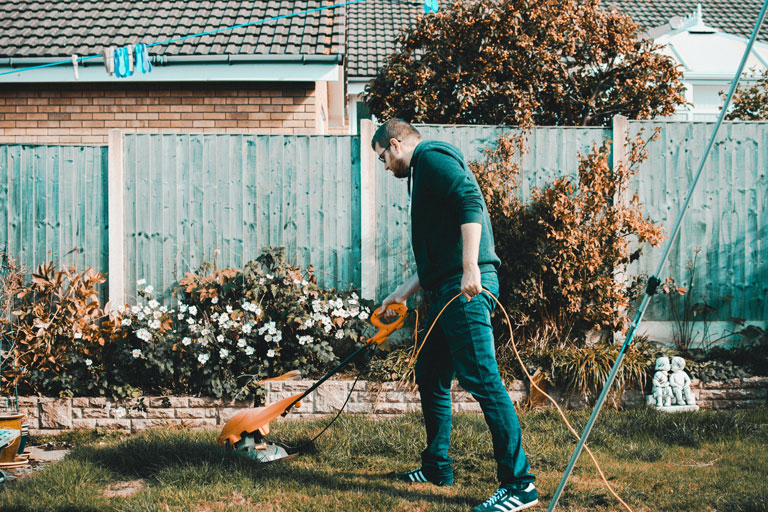 Club van vrijwilligers tuinieren